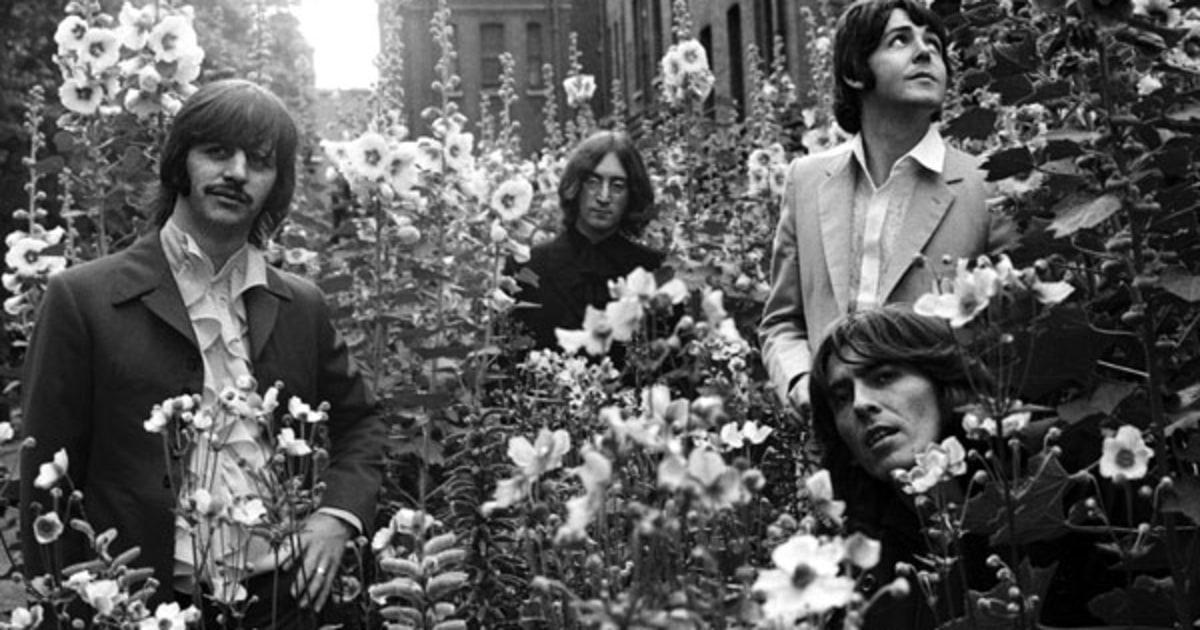 Photos The Beatles Romp Through London In 1968