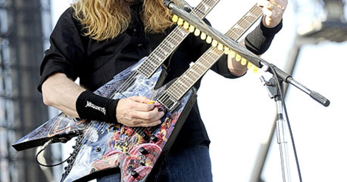 Rs Megadeth Metallica Slayer Anthrax Rock Big Empat Festival Rolling Stone