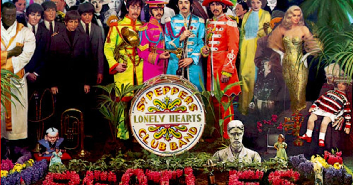 1 The Beatles Sgt Pepper S Lonely Hearts Club Band