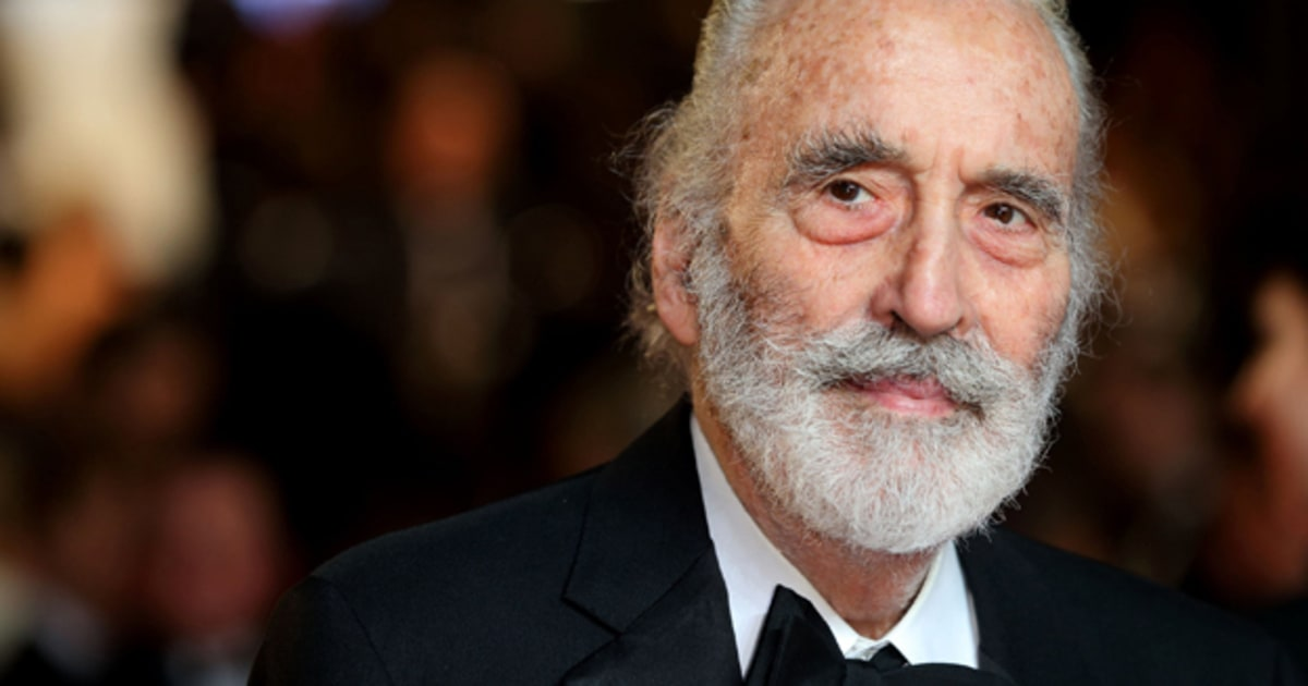 Christopher Lee metal album - Rolling Stone