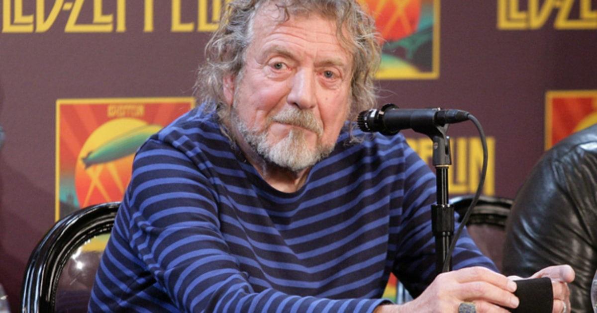 Robert Plant Talks Abo...