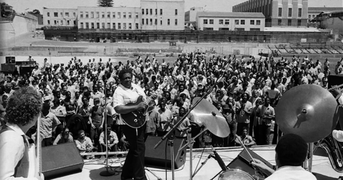 San Quentin Prison   B.B. King Is Friends With Everybody ...