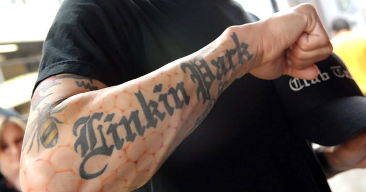 Linkin Park Fans Bad And Bad Ass Rock Tattoos Rolling