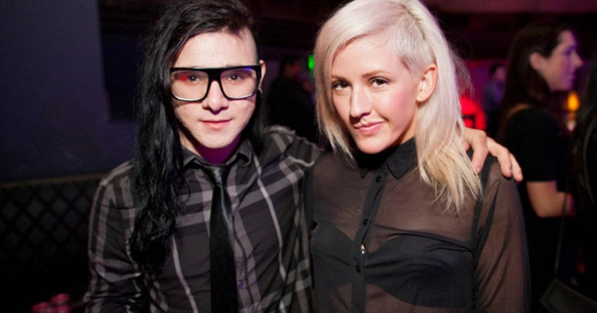 Skrillex and Ellie | Behind the Scenes With Skrillex ...