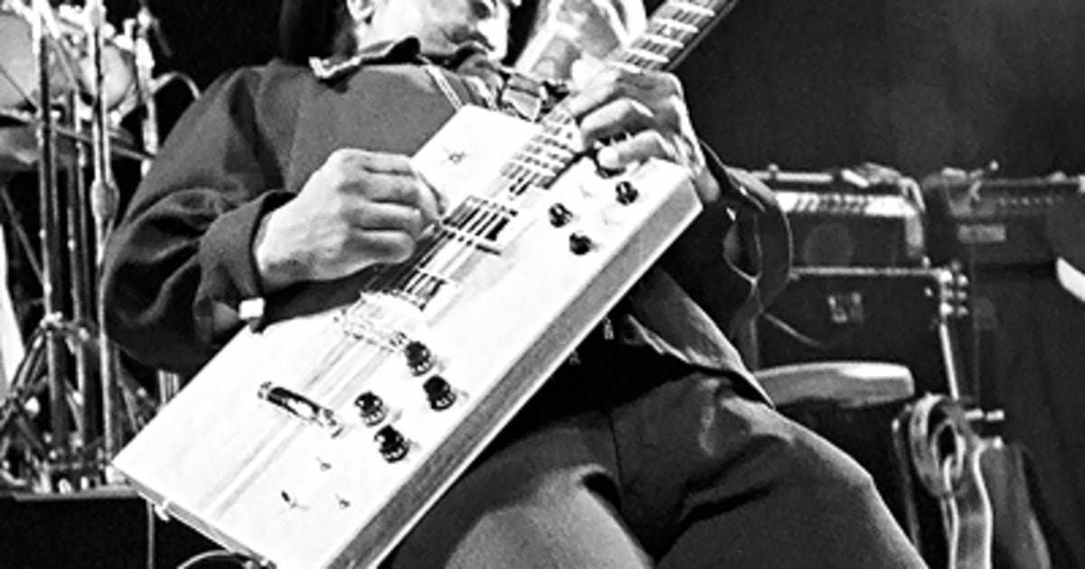 Bo Diddley S Cigar Box 20 Iconic Guitars Rolling Stone