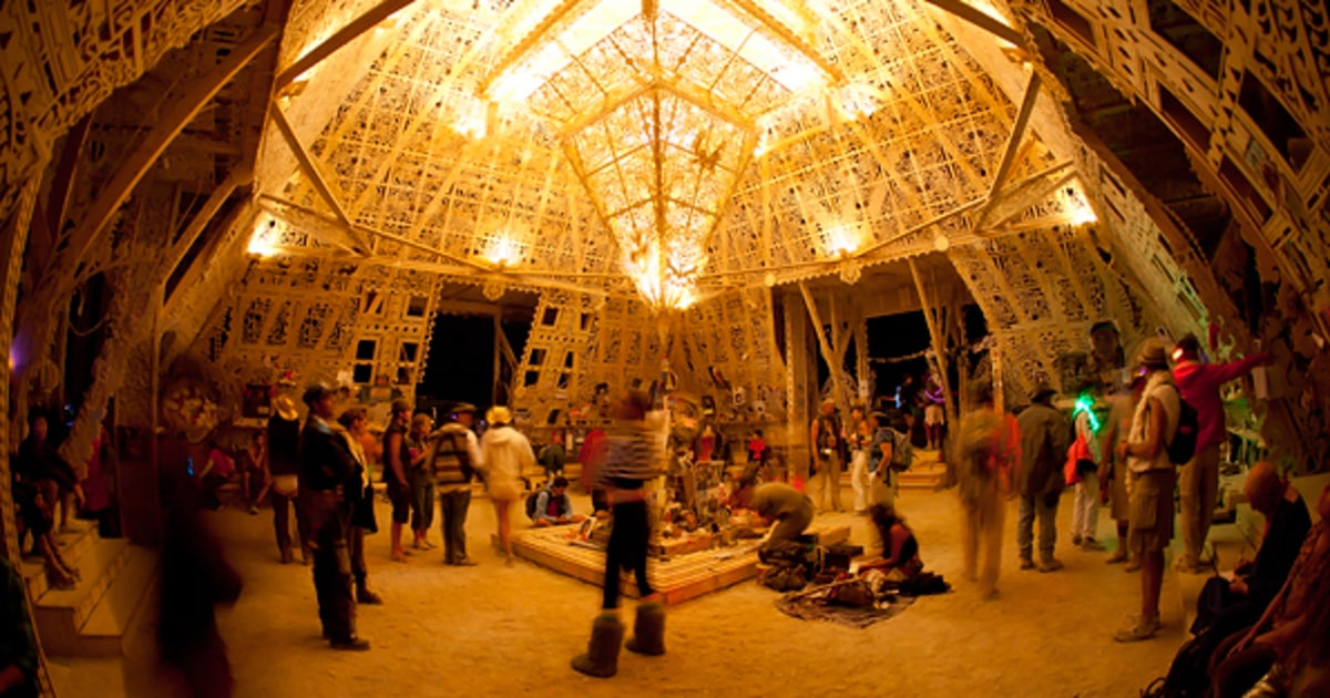 The Temple of Juno   Burning Man 2012   Rolling Stone