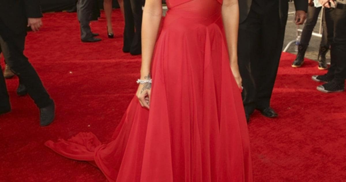 Grammys: Grammy Awards Red Carpet 2013