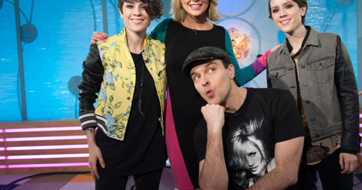 Carrie Keagan And Jim Shearer Tegan And Sara A Day In