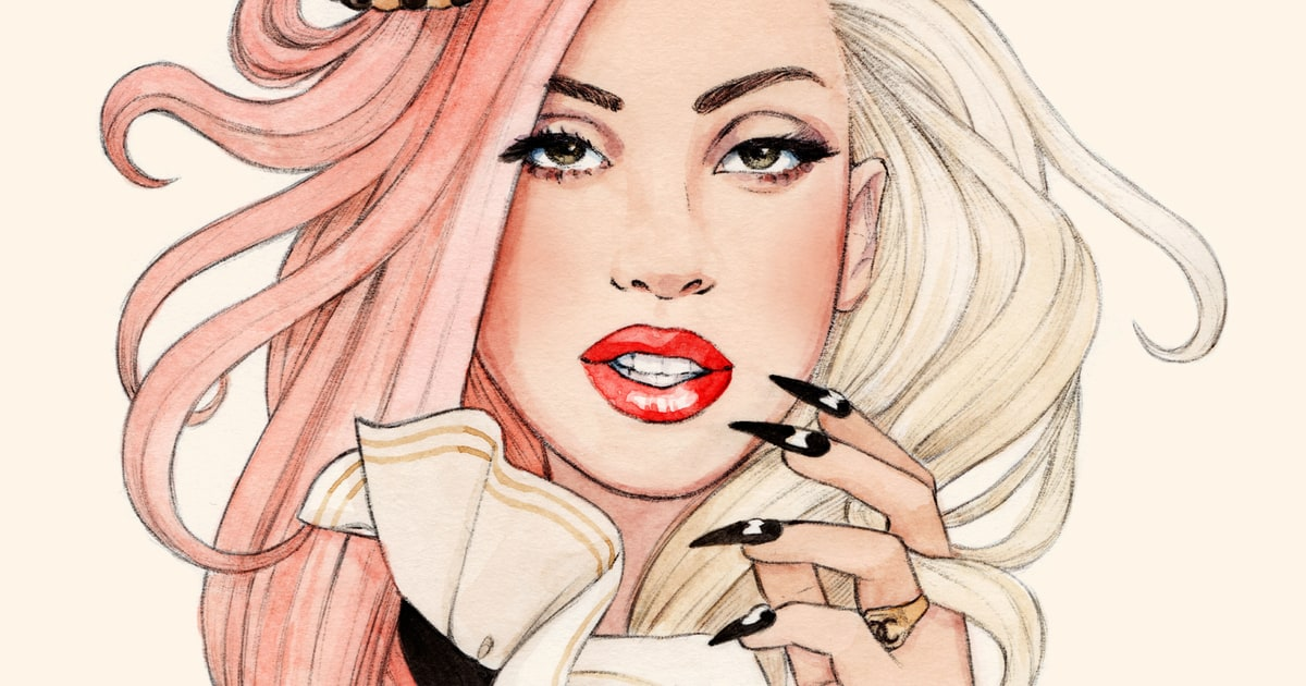 Skull And Claw 18 Amazing Pieces Of Lady Gaga Fan Art