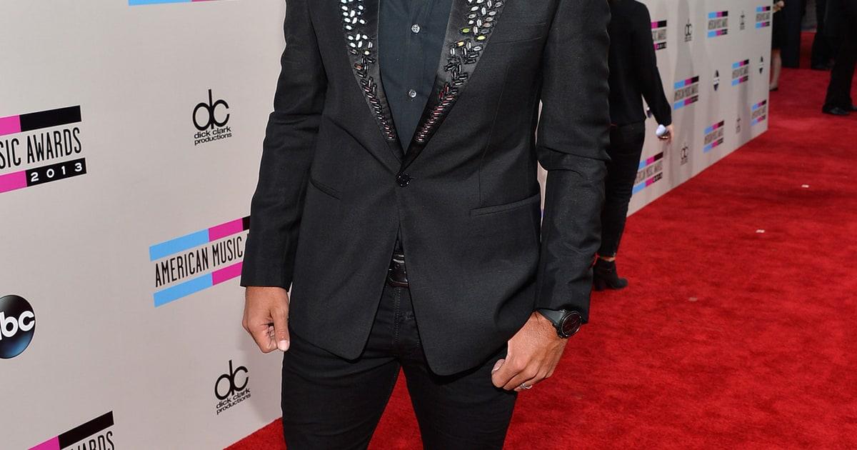 Luke Bryan 2013 American Music Awards The Red Carpet