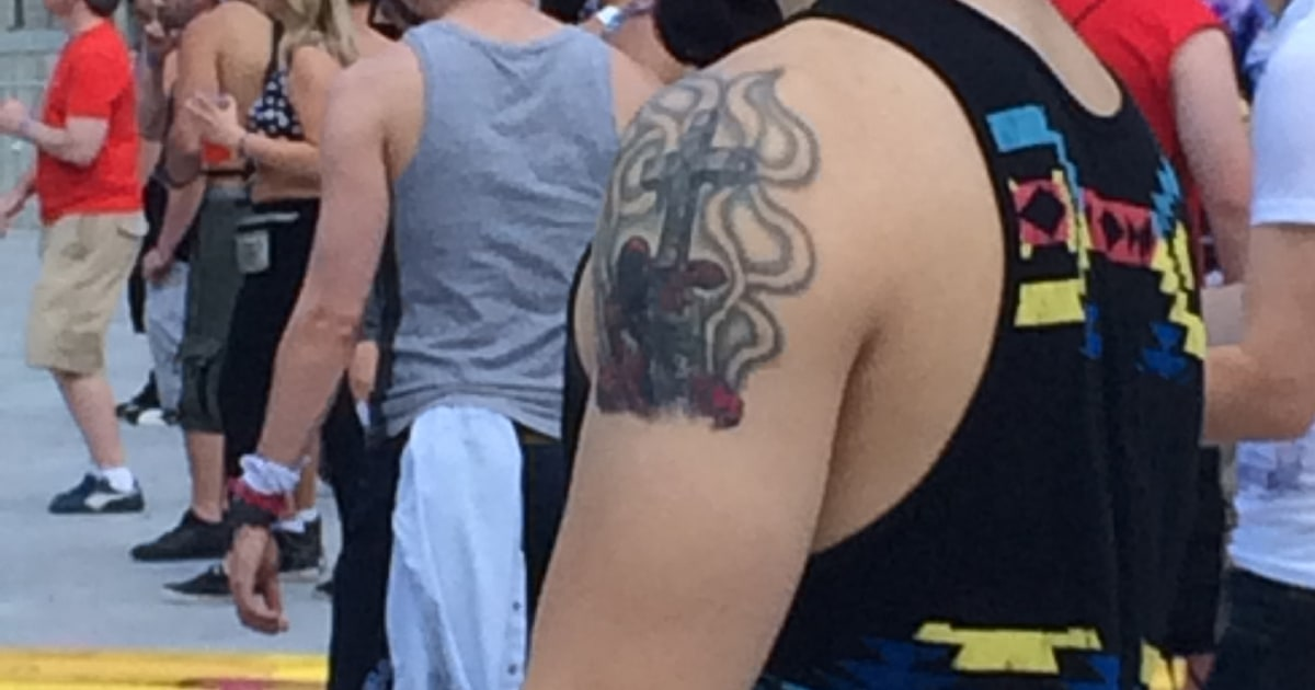 Kaskade Tattoo This Spider-Man Tattoo...