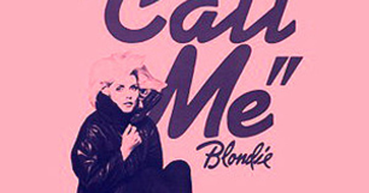 blondie call me 500 greatest songs of all time