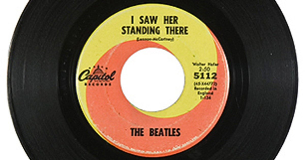 the beatles i saw her standing there 500 greatest