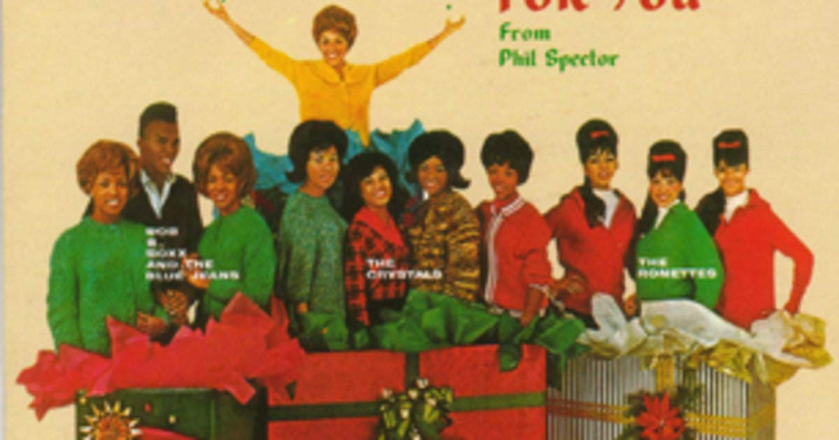 A Christmas Gift For You From Phil Spector' (1963) | The 25 ...