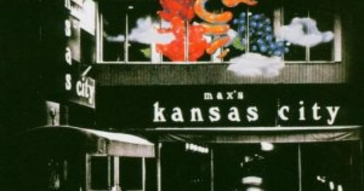 Live At Max S Kansas City Rolling Stone