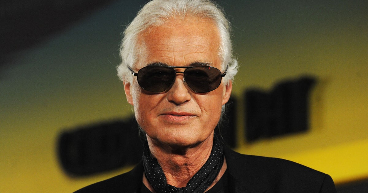 Jimmy Page Receiving Honorary Doctorate Of Music From