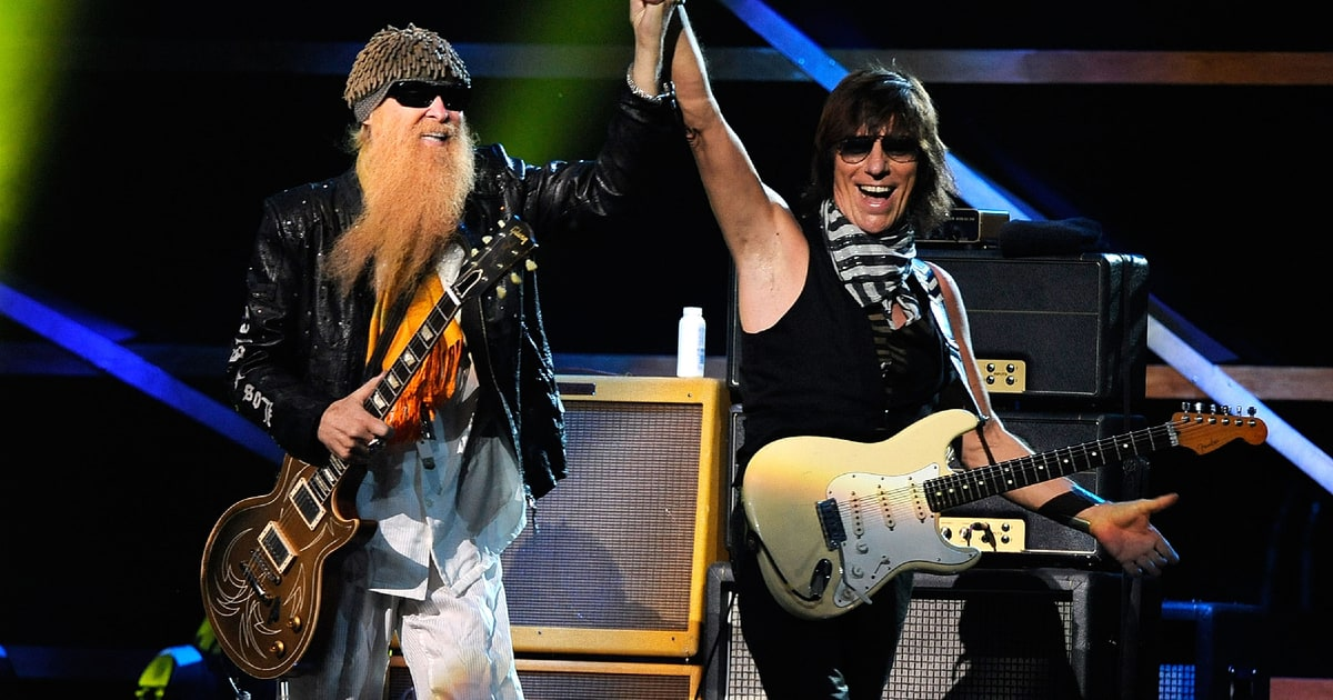 jeff beck and zz top to tour together this summer