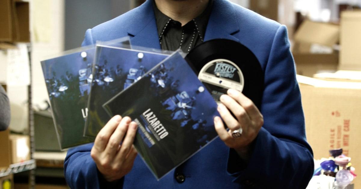 Inside Jack Whites Worlds Fastest Record Rolling Stone