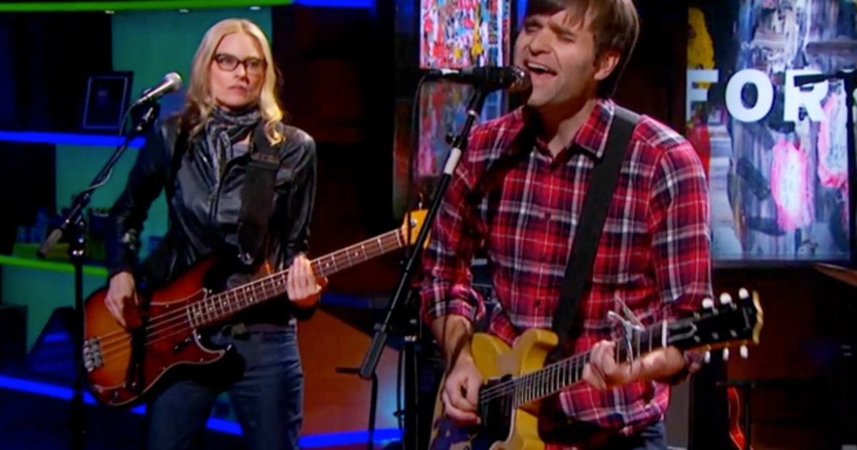 Ben Gibbard Duets With Aimee Mann on 'Colbert' – Rolling Stone
