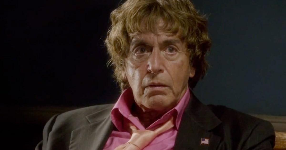 Al Pacino Radiates Intensity In Phil Spector Trailer