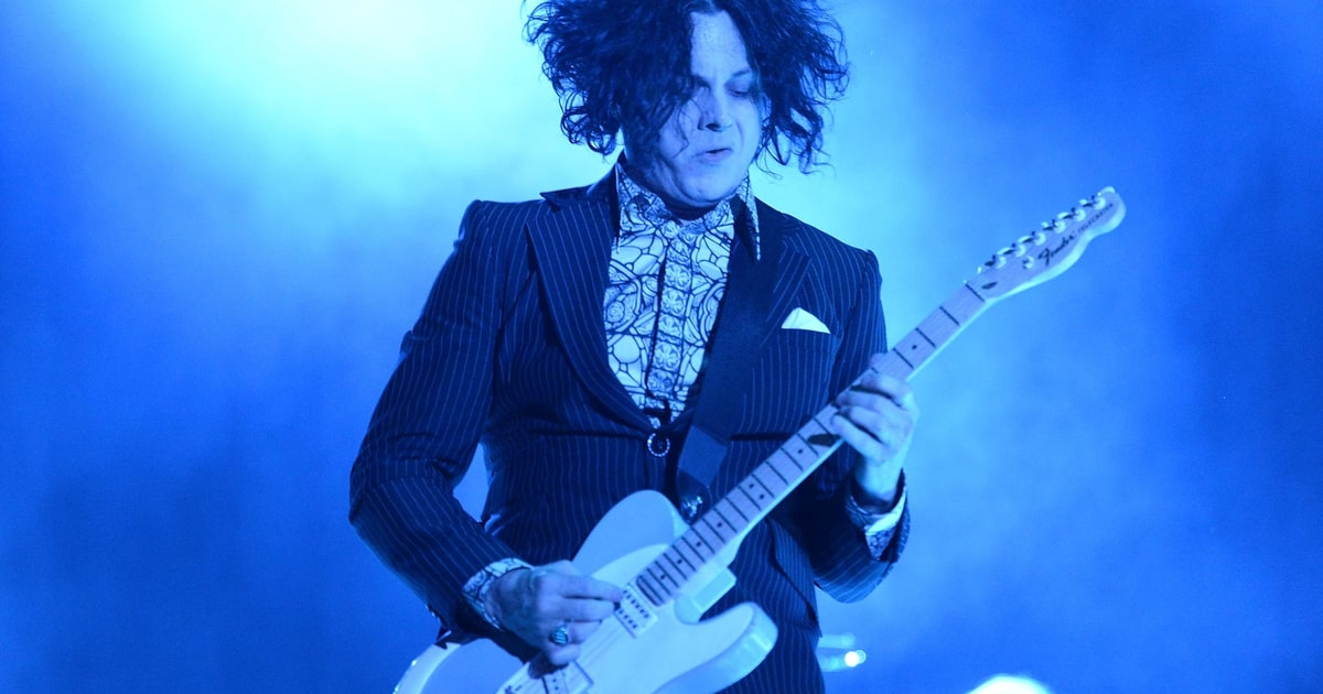 On The Charts Jack White Sets Vinyl Sales Record For