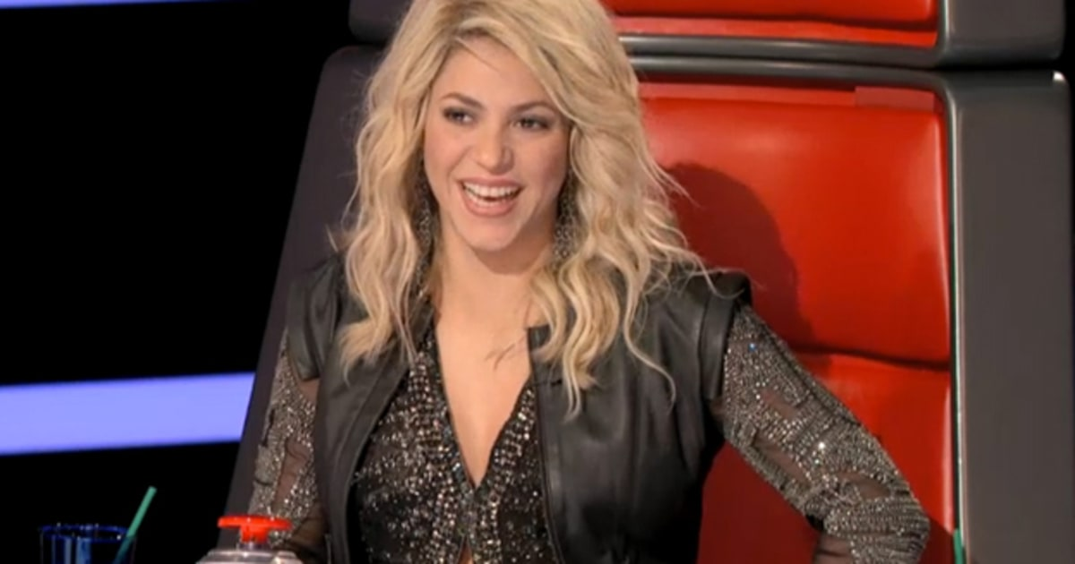 The Voice Season Four Preview Usher And Shakira Arrive