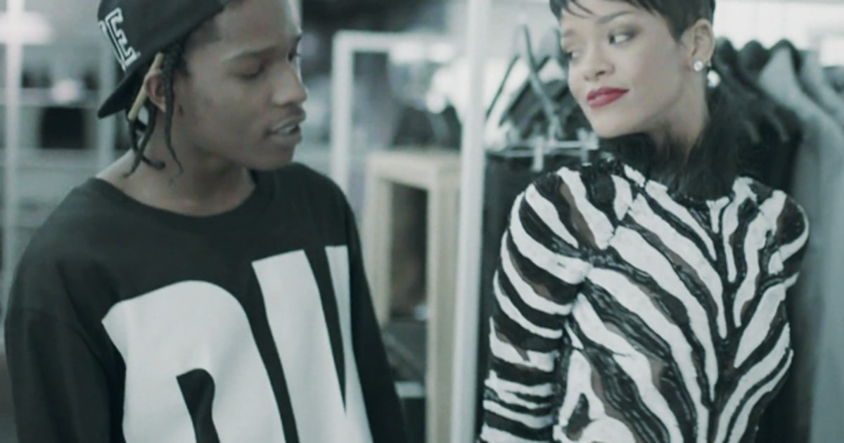 Watch AAP Rocky Rihanna: Fashion Killa Video GQ Video CNE 95
