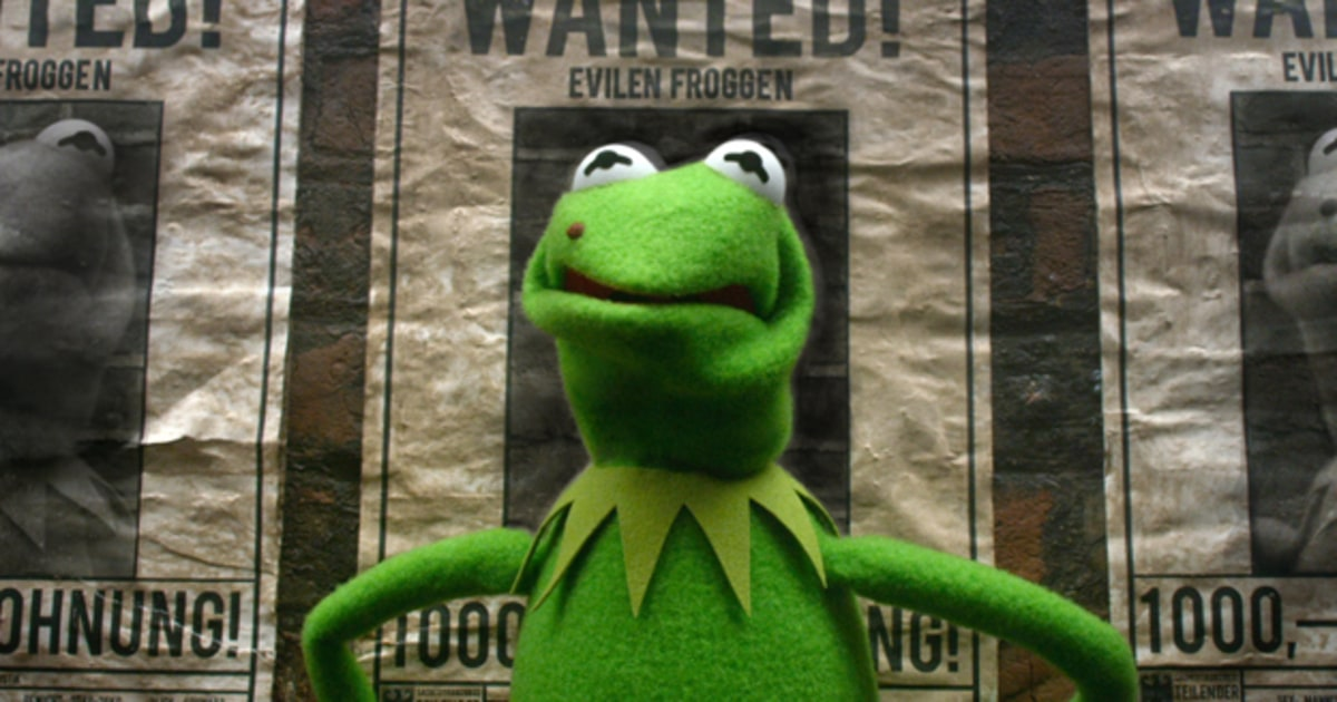Kermit Is Framed In Muppets Most Wanted Trailer