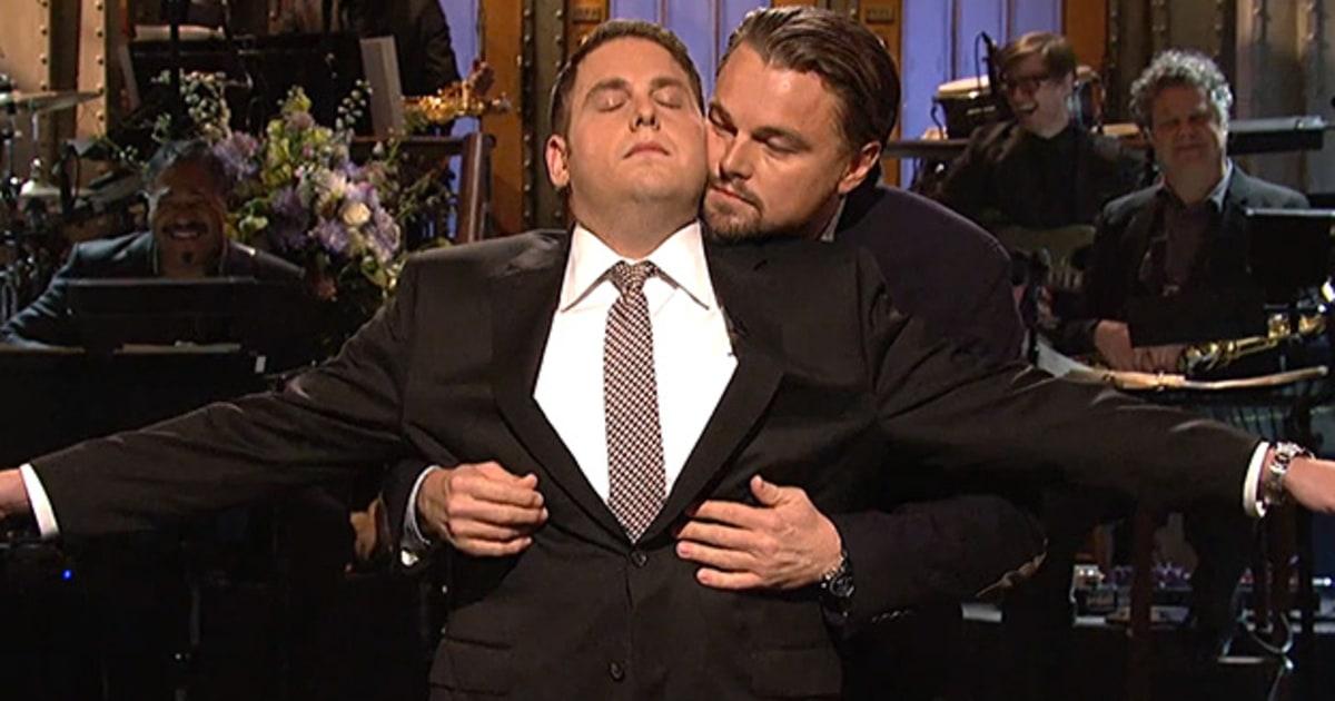 Leonardo Dicaprio Jonah Hill Leonardo DiCaprio and ...