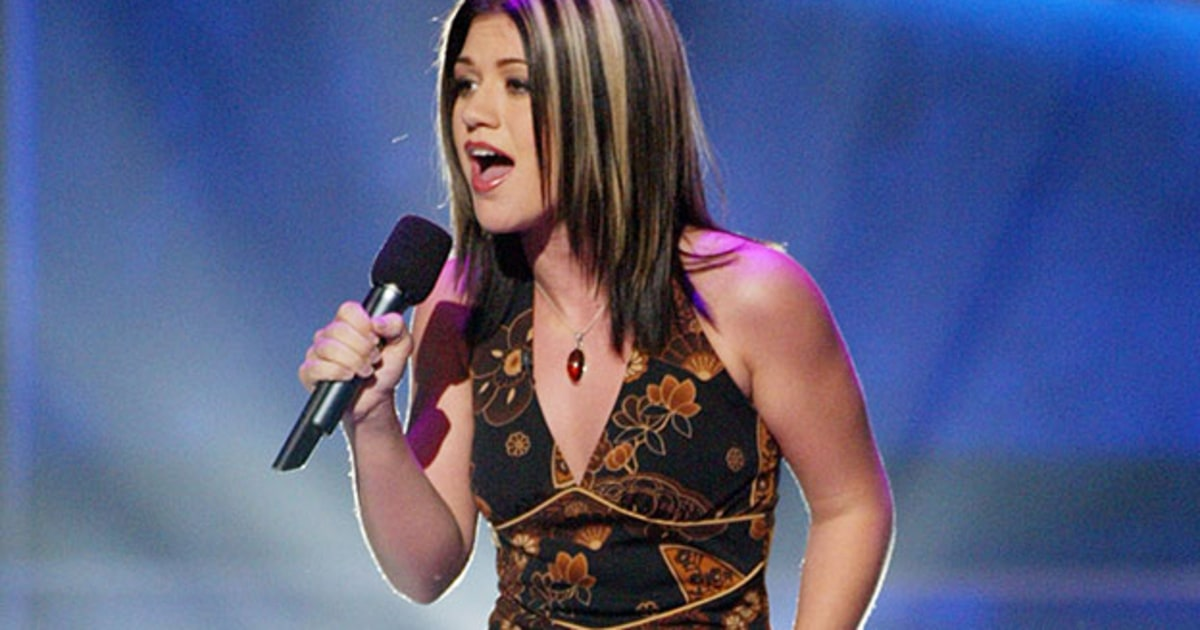 Kelly clarkson on american idol