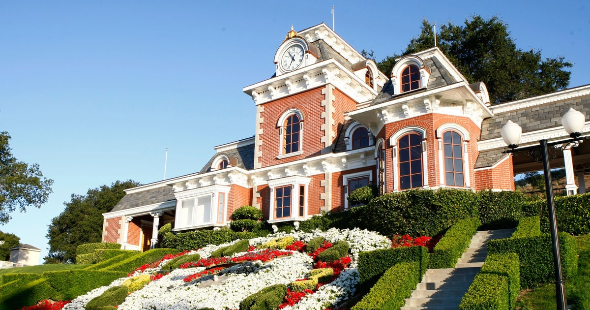 Michael Jacksons Neverland Ranch To Be Sold Rolling Stone