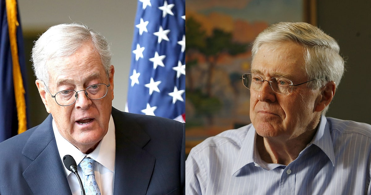 Image result for photos of koch brothers