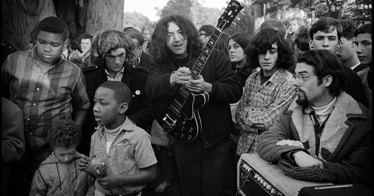 PHOTOS: Love and Haight: Jim Marshall's Iconic Sixties San Francisco Photos