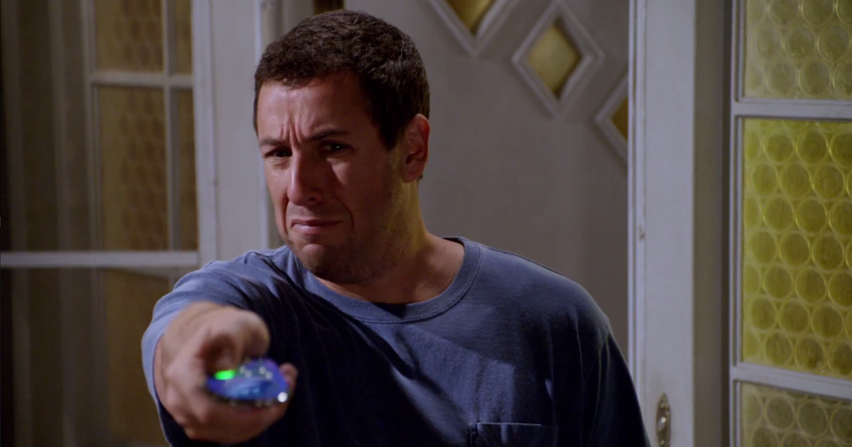 Adam click movie sandler