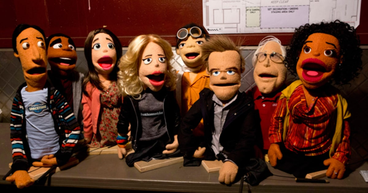 39 community 39 cast transformed into puppets in upcoming for Community tv show pool episode