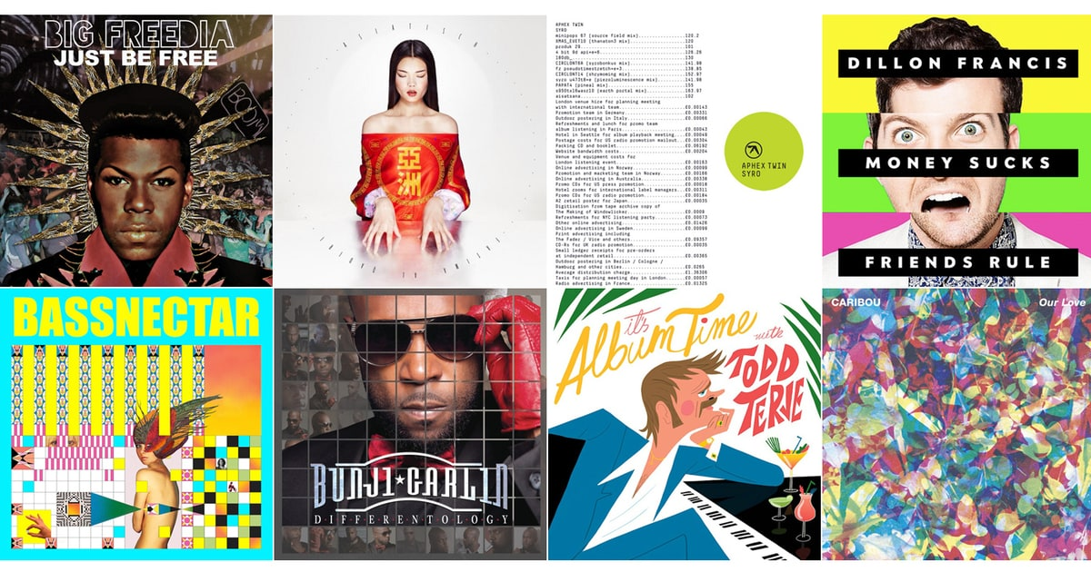 PHOTOS: 20 Best EDM, Electronic and Dance Albums of 2014