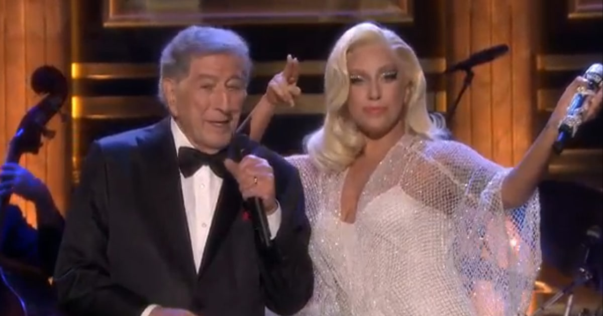 Lady Gaga and Tony Bennett Swing By 'Tonight Show' - Rolling Stone