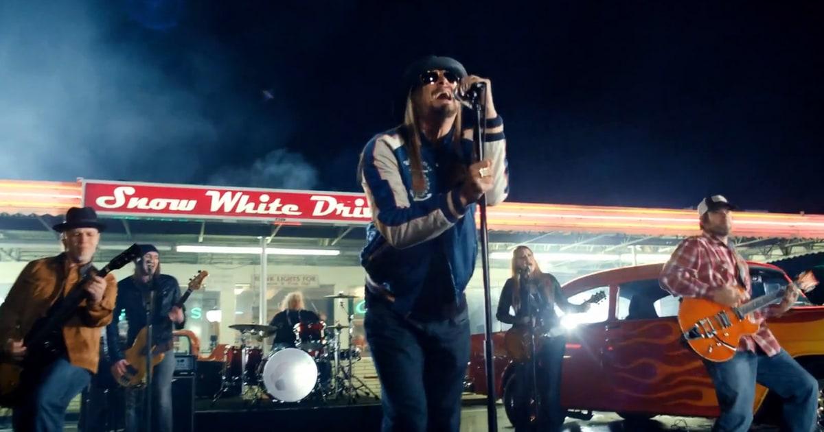 Kid Rock Cars >> Kid Rock Cruises Down Memory Lane in 'First Kiss' Video - Rolling Stone