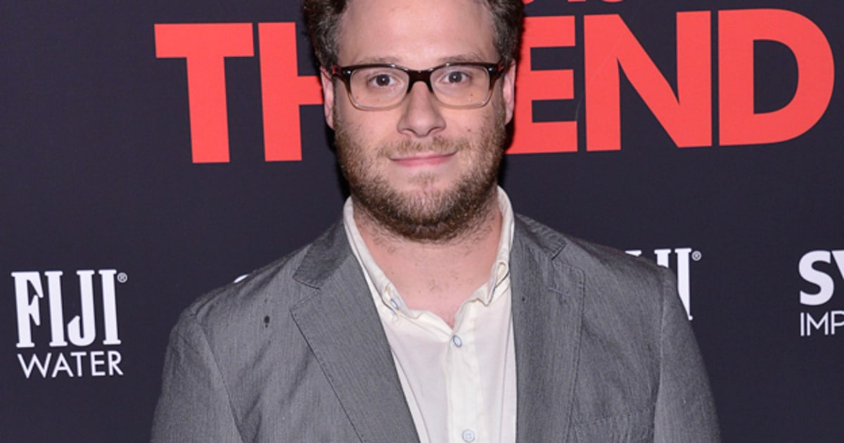 Seth Rogen Sparking Up a Christmas Stoner Movie - Rolling Stone