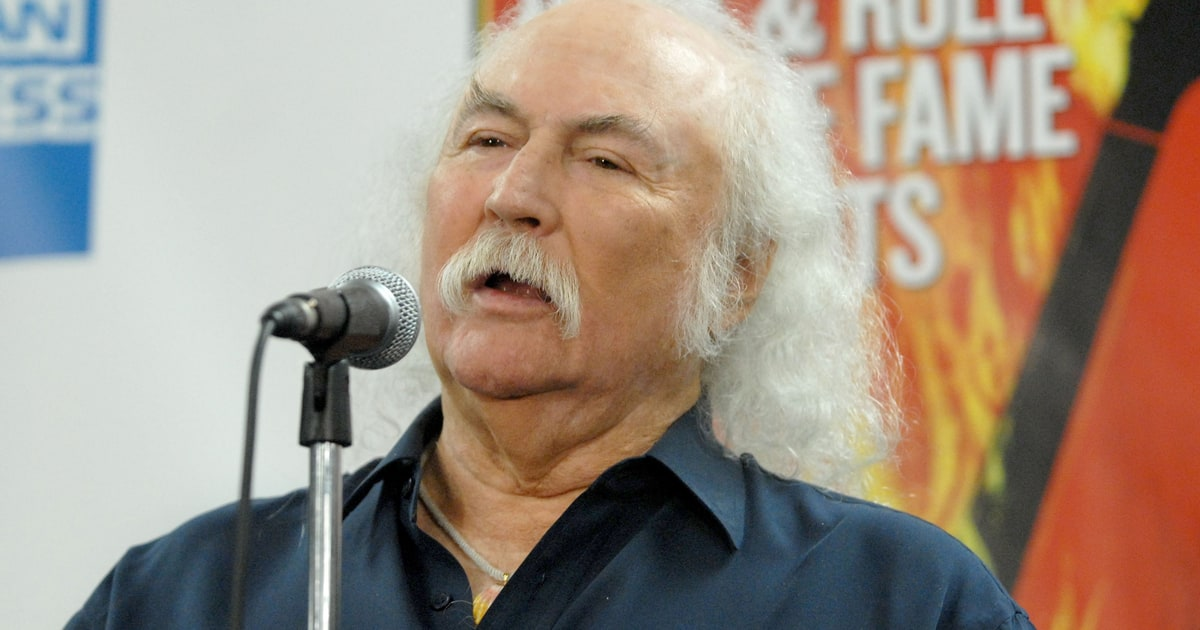 David Crosby Back To The Garden Rolling Stone
