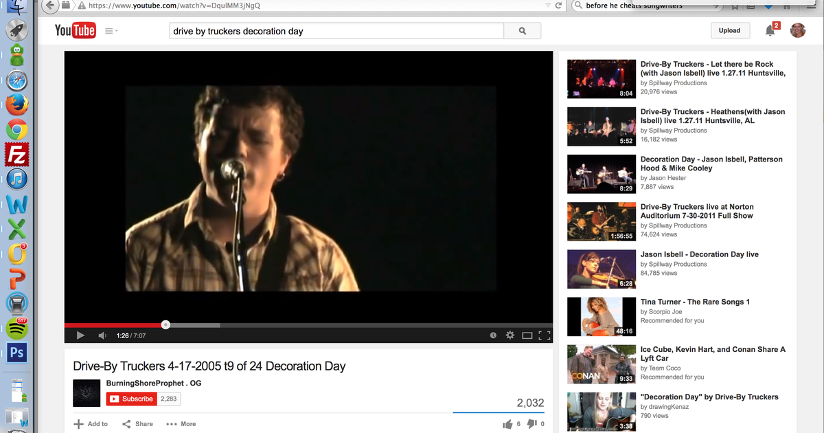 """Drive By Truckers, """"Decoration Day"""" 