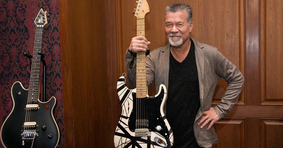 Resultado de imagem para Eddie Van Halen 2016