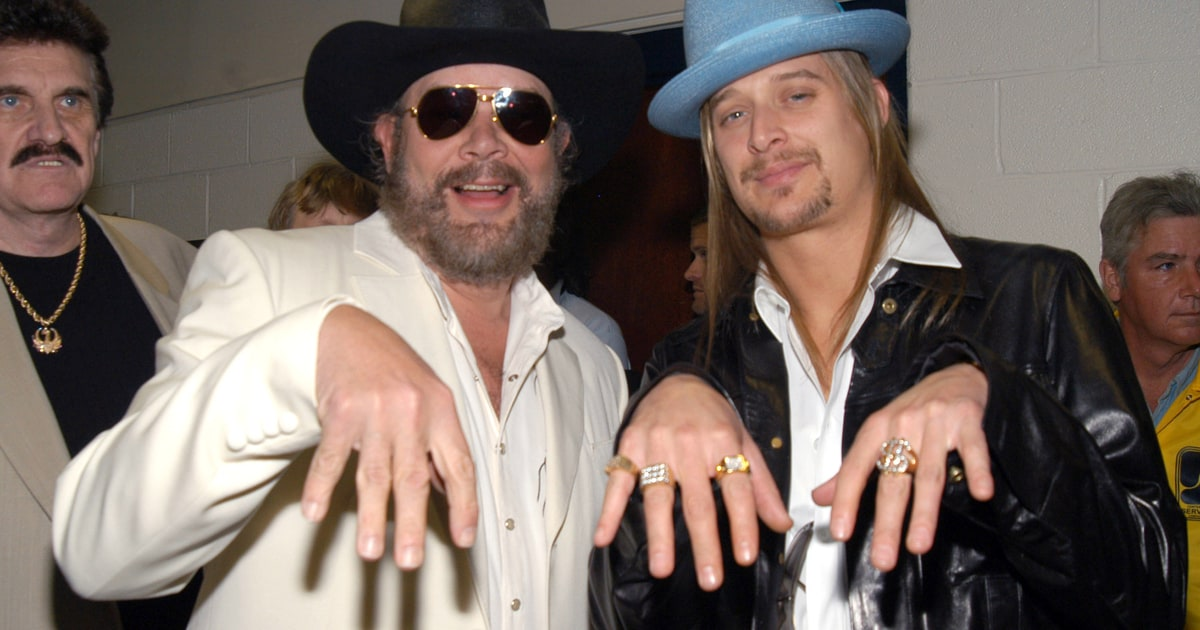 Family tradition with hank williams jr cowboy baby for Kid rock 3rd annual fish fry
