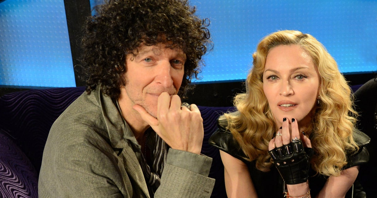 Madonna on 'Howard Stern': 10 Things We Learned - Rolling ...