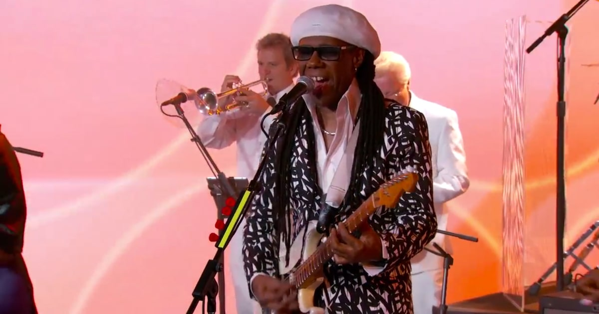 Watch Chic Transform 'Kimmel' Into Disco With 'I'll Be There' - Rolling Stone
