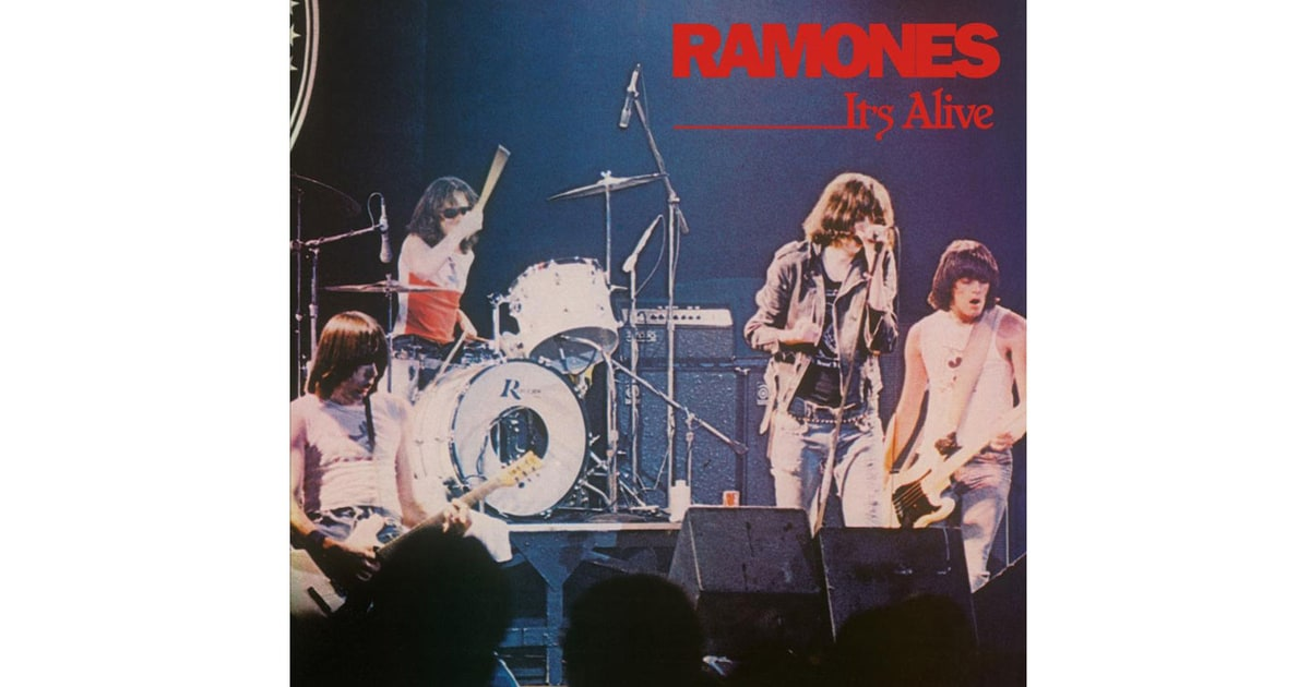 Ramones 39 it 39 s alive 39 1979 50 greatest live albums of for Top 10 house songs of all time