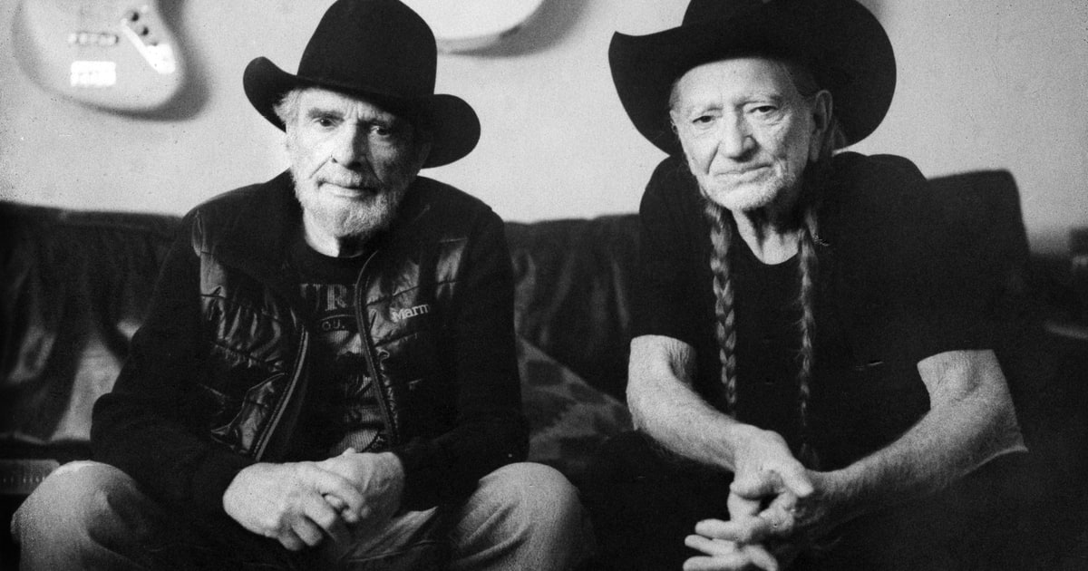 Watch Willie Nelson And Merle Haggard Smoke And Joke In