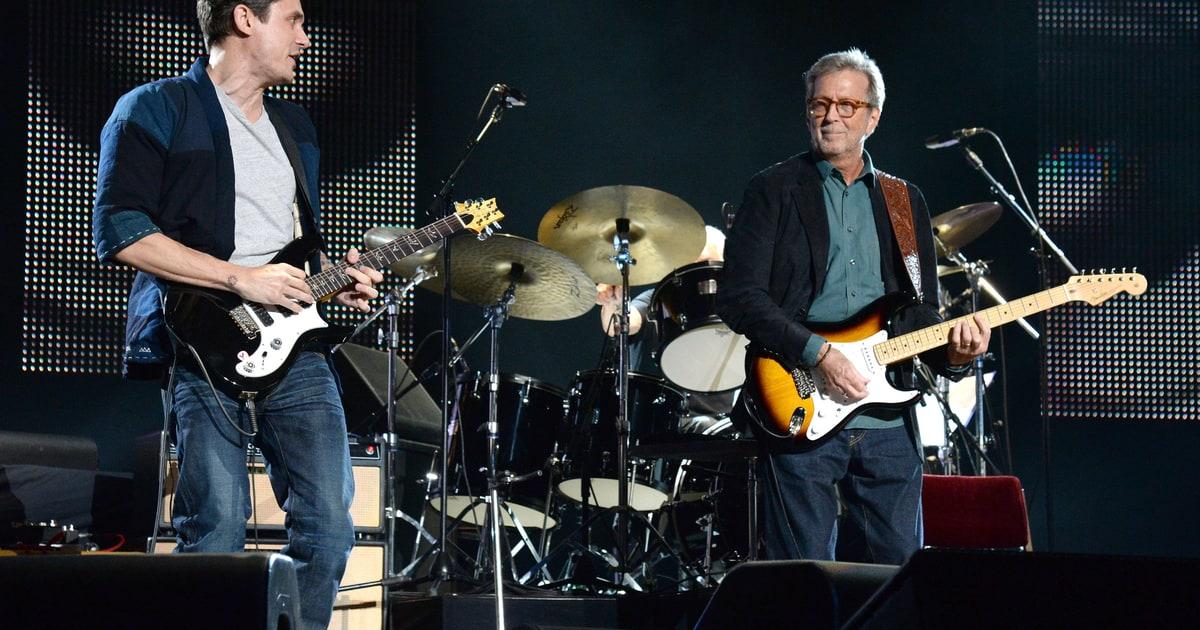 Eric Clapton Celebrates 70th Birthday With John Mayer Derek Trucks Rolling Stone
