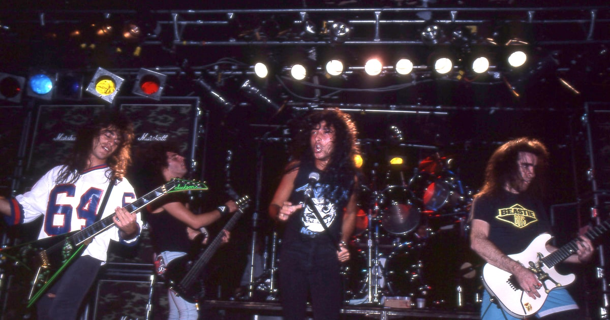Anthrax 1986 See Metallica Megadeth Anthrax Rock Legendary Metal Club L 39 Amour Rolling Stone