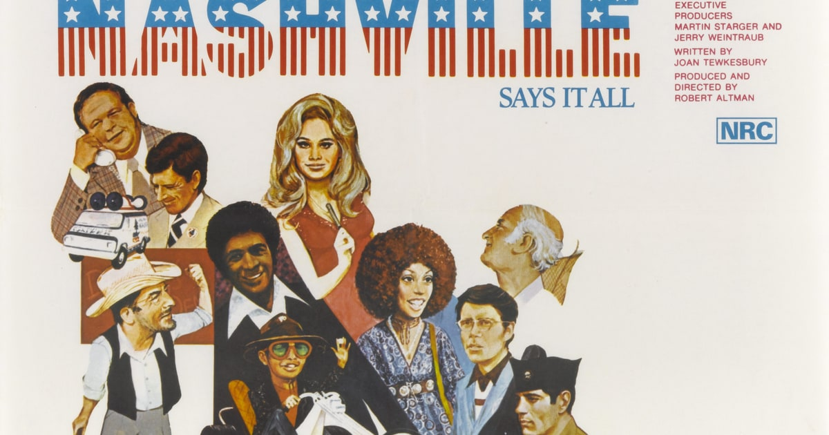Flashback Robert Altman S Nashville Angers Country